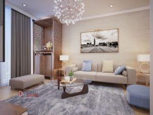 Thiết kế nội thất chung cư Vinhomes Gardenia hiện đại giá rẻ hợp lý