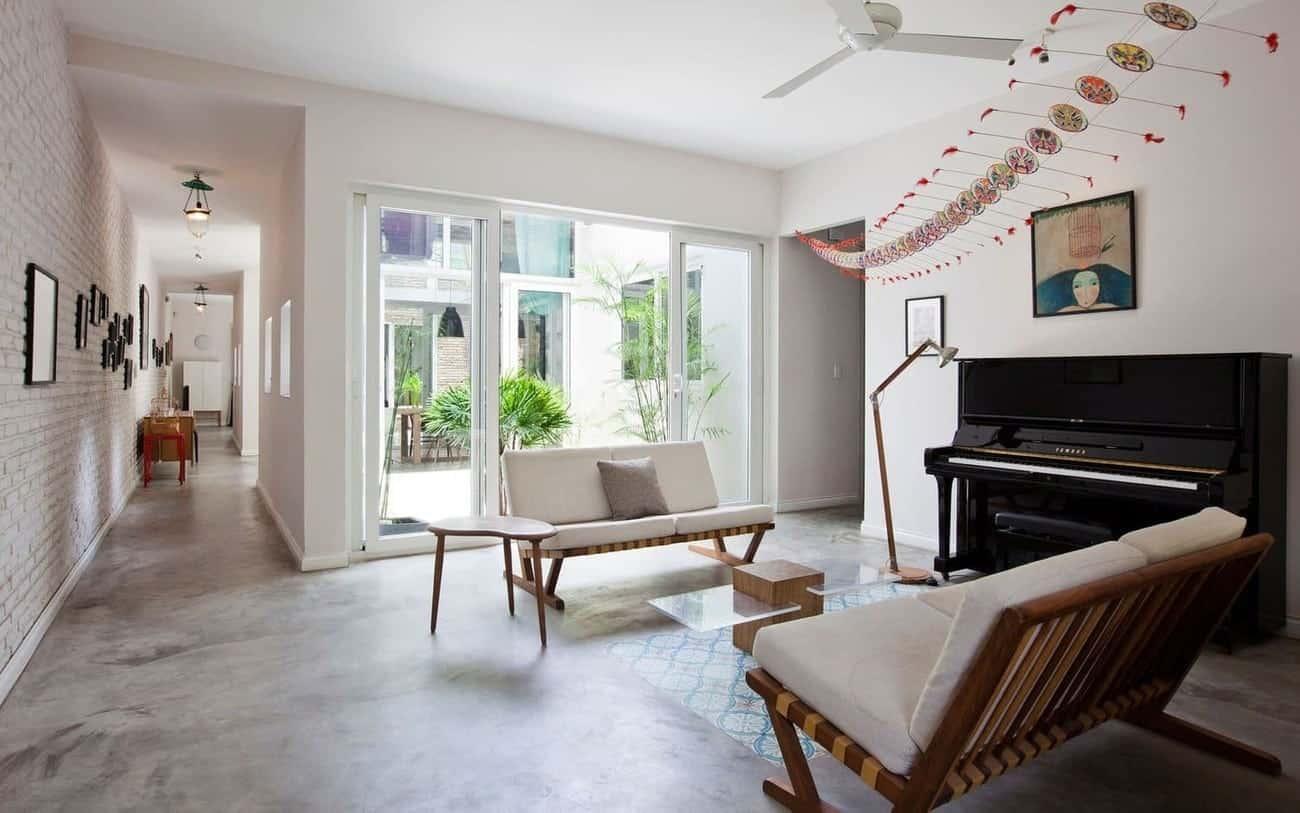 Thiết kế nội thất biệt thự mini hiện đại, sang trọng, chi phí hợp lý