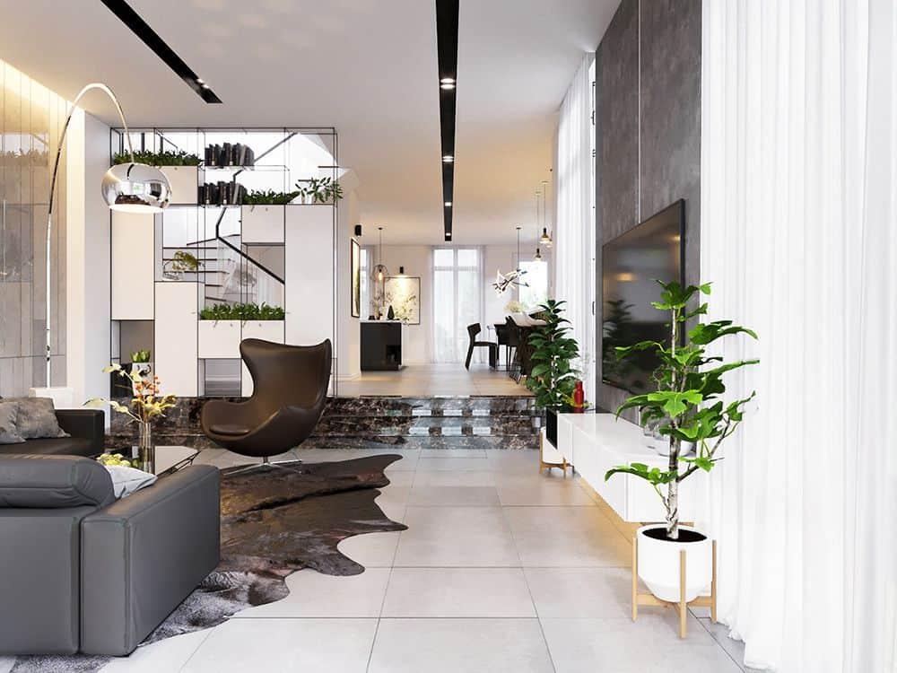 [Uy Tín] Thiết kế nội thất biệt thự nhà vườn đẹp và đẳng cấp