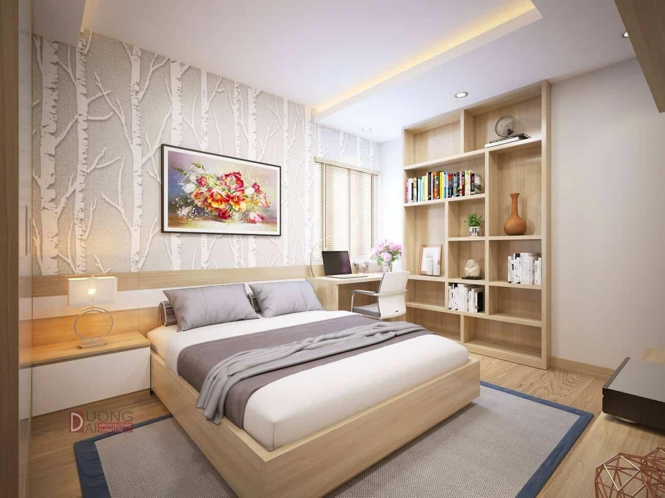 Thiết kế nội thất chung cư Mipec Tower đẹp và sang trọng
