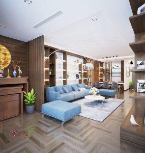 Thiết kế nội thất chung cư Mulberry Lane sang trọng và đẳng cấp