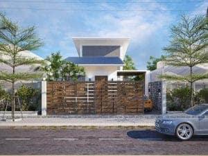 Thiết kế kiến trúc nhà phố tại Hà Nội mang đẳng cấp và hiện đại