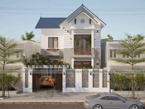 Thiết kế kiến trúc nhà phố tại Phú Thọ đang hot nhất năm