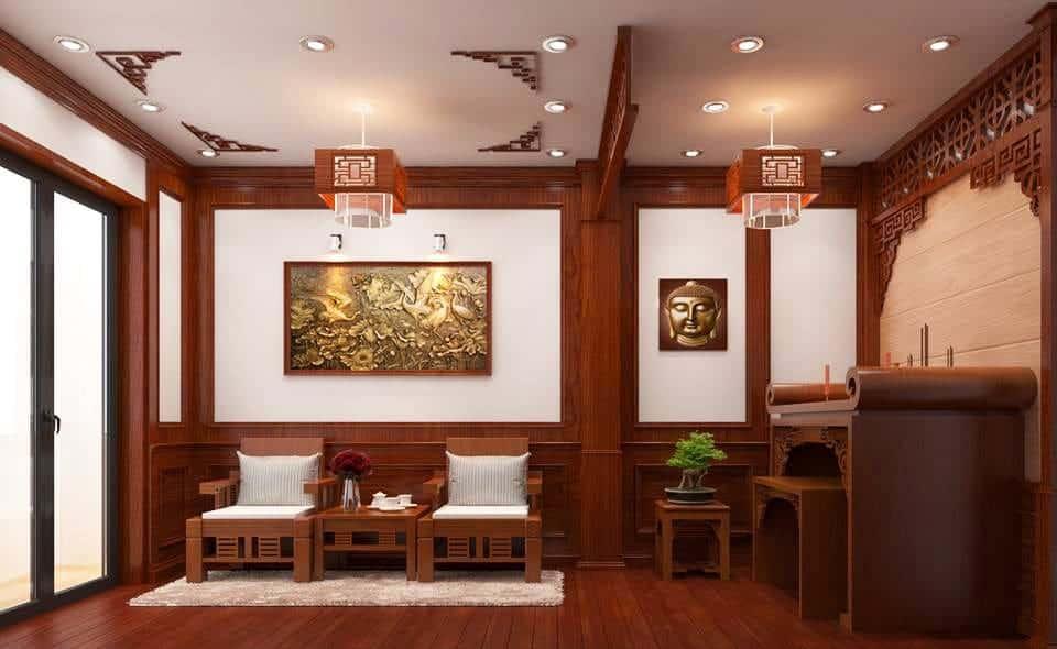 Cách thiết kế phòng thờ chuẩn phong thủy nội thất