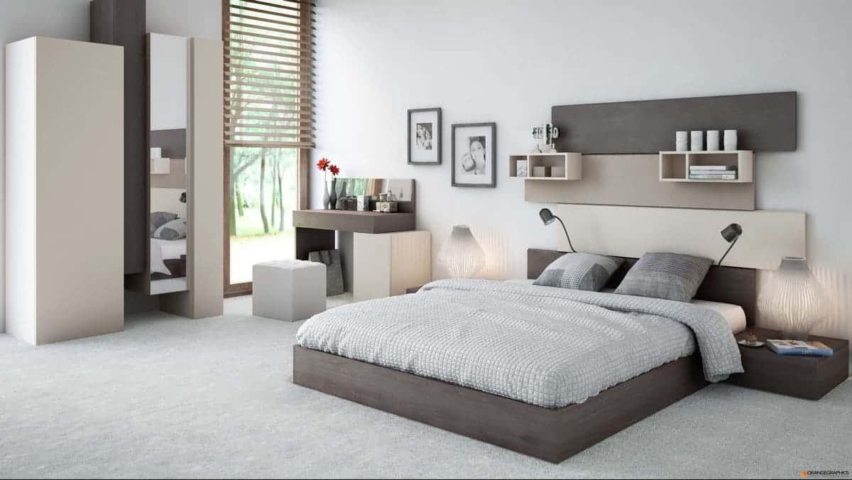 Lựa chọn cách trang trí phòng ngủ siêu đẹp cho gia đình (P1)