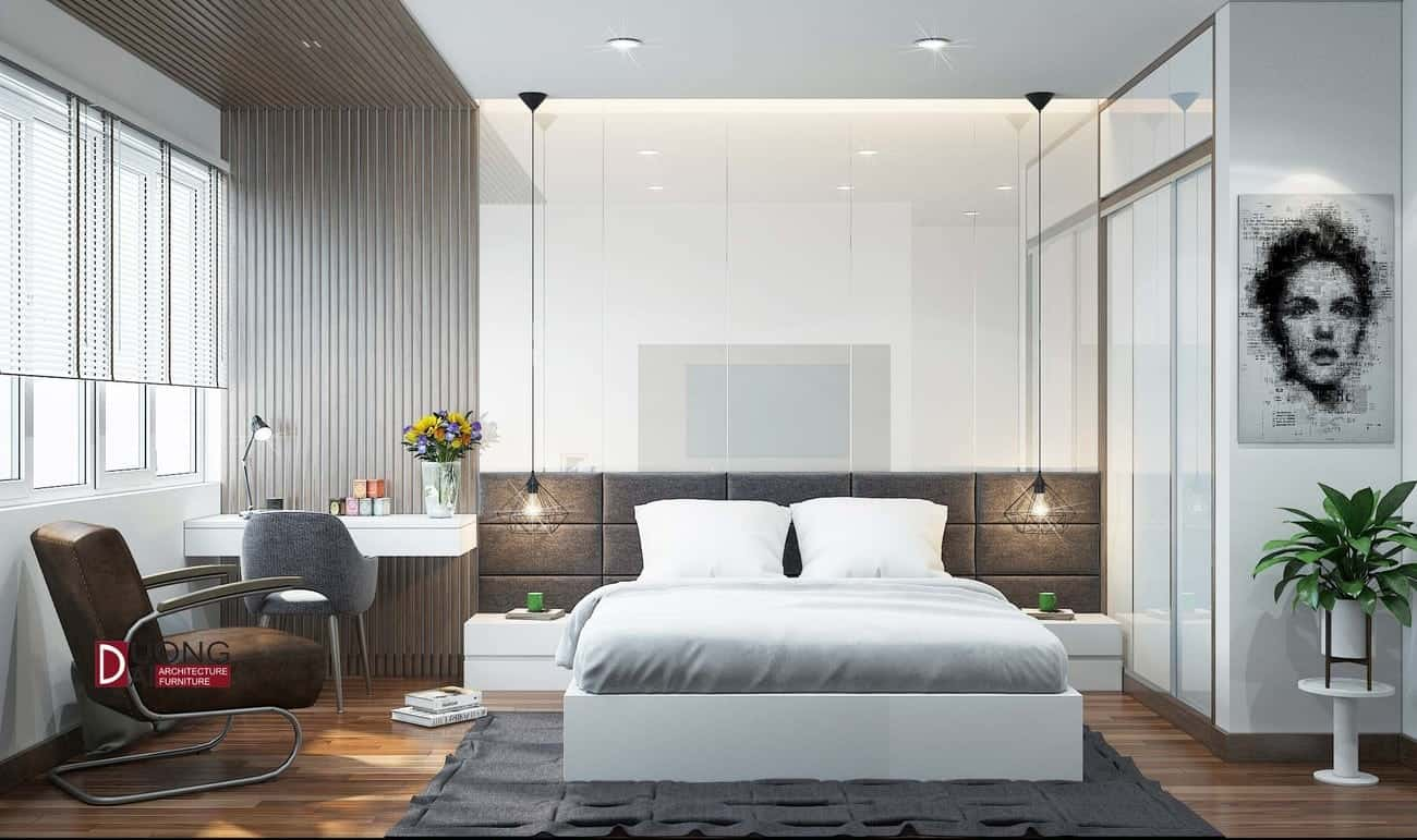 Thiết kế nội thất chung cư Park Hill - Park 6 đột phá phong cách