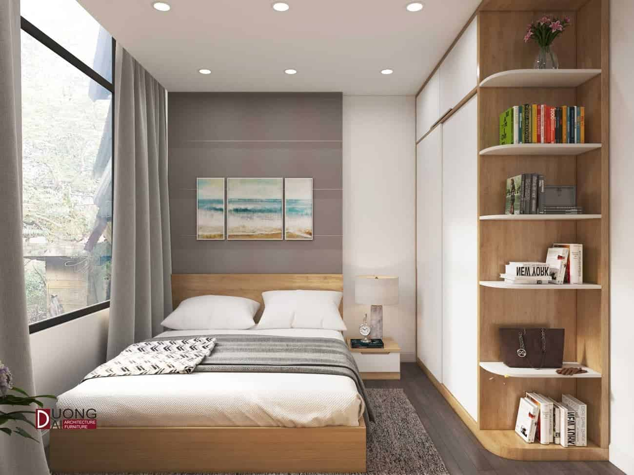 Đáng kinh ngạc với thiết kế nội thất nhà phố Hà Nội - Chị Vân