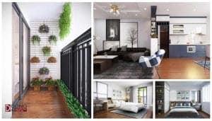 Dự án thiết kế nội thất chung cư Hateco Hoàng Mai