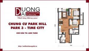 Khám phá thiết kế nội thất chung cư Park Hill 3 độc đáo