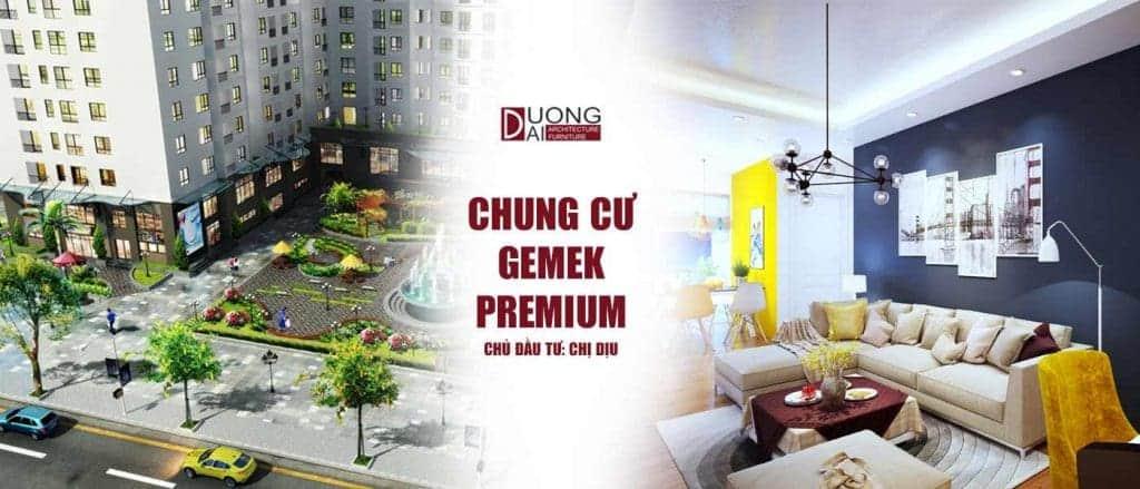 Thiết kế nội thất chung cư Gemek Premium - Cực đẹp