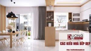 Các kiểu nhà bếp đẹp hiện đại và cao cấp mà hợp túi tiền