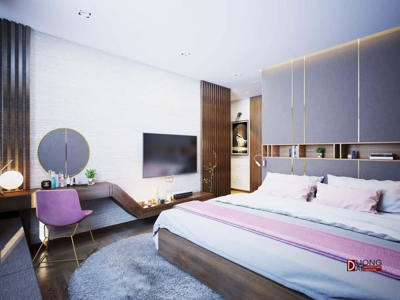 Bất ngờ với những mẫu phòng ngủ vợ chồng đẹp cho những ai đang cần