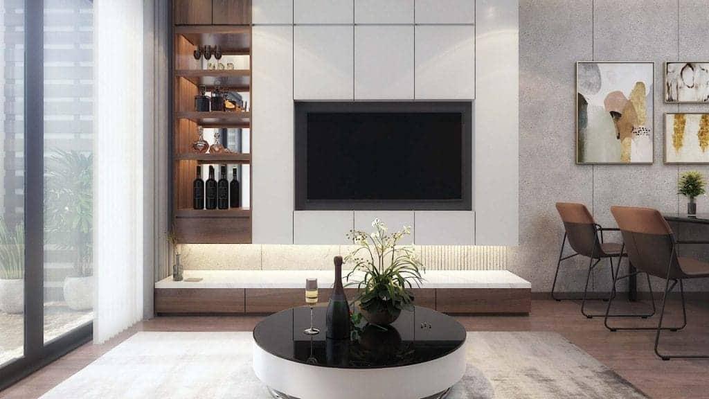 Bàn ăn thông minh- giải pháp cải thiện tối đa diện tích căn phòng
