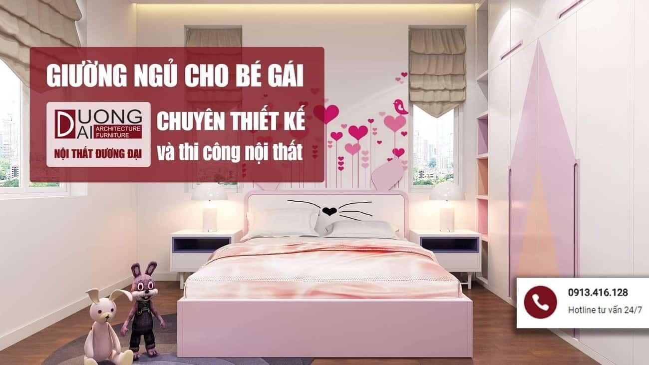 Cơ hội sở hữu những mẫu giường ngủ cho bé gái cực hấp dẫn