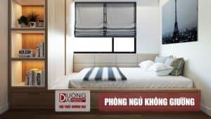 Không tưởng với những thiết kế nội thất phòng ngủ không giường