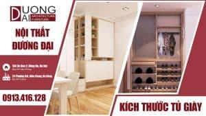 Làm rõ một số kích thước tủ giày để có được những mẫu nội thất như ý