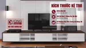 Sự thật về kích thước kệ tivi trong thiết kế nội thất gia đình