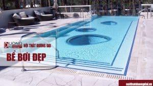 Xin giới thiệu những mẫu bể bơi đẹp giúp bạn giải nhiệt mùa hè