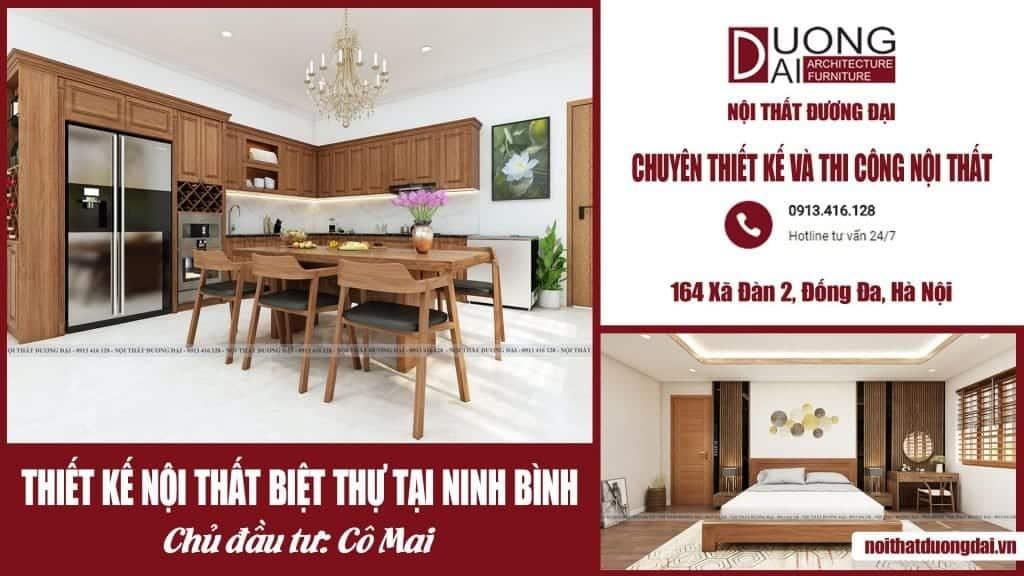 Hé lộ mẫu thiết kế nội thất biệt thự tại Ninh Bình - Cô Mai