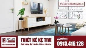 Thiết kế kệ tivi ở đâu đạt chuẩn chất lượng, giá cả hấp dẫn?