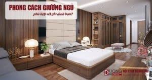 Phong cách giường ngủ nào hợp với căn phòng nhà bạn?