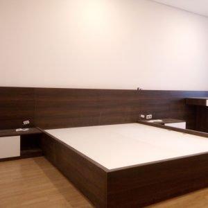 Giường ngủ gỗ MFC An Cường - Sản phẩm hiện đại chuẩn nội thất