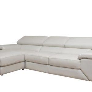 Sofa da chữ L giá rẻ màu XÁM giá xuất xưởng cho khách hàng