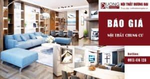 [BÁO GIÁ] Nội thất chung cư, miễn phí thiết kế thi công giá rẻ