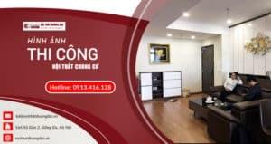 [Giá rẻ] Thi công nội thất chung cư chất lượng, đảm bảo giá cả hợp lý