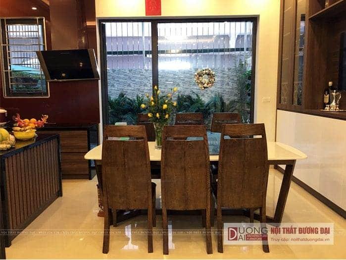 Hình ảnh thực tế thi công nội thất Biệt Thự VinCom Plaza Sơn La