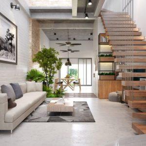 Mê mẩn với phong cách thiết kế nhà phố lệch tầng đa dạng kiến trúc
