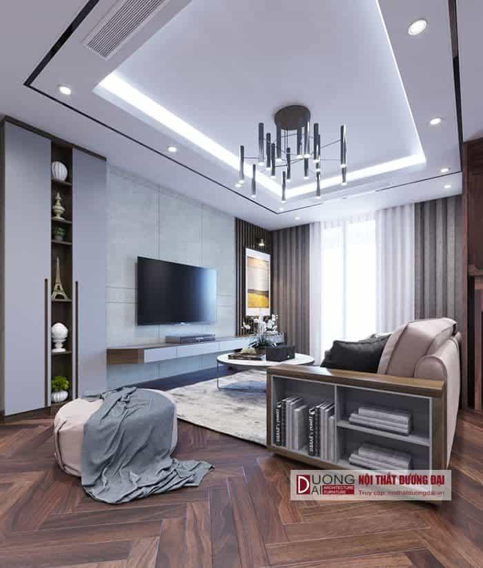 [Hot] Mẫu thiết kế nội thất chung cư 70m2 đang được yêu thích hiện nay