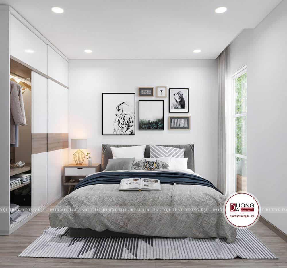 Phòng ngủ nhỏ xinh đầy thư giãn cho những giấc ngủ