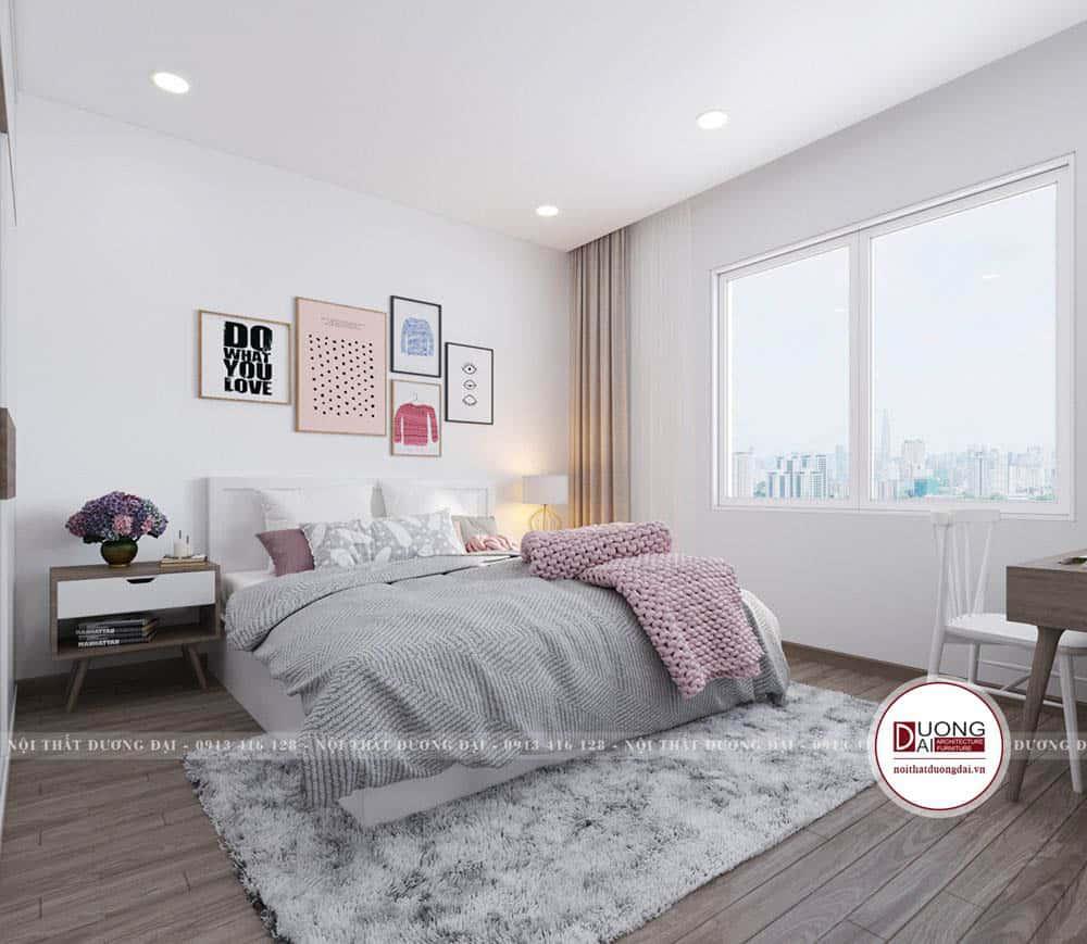 Phòng ngủ cho bé với màu sắc trẻ trung và cá tính