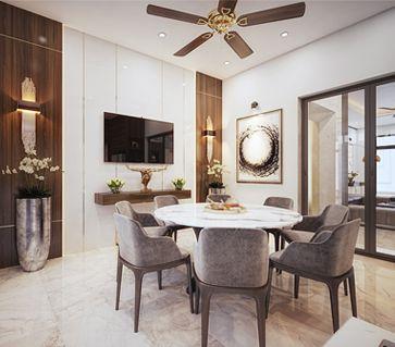 Thiết kế và thi công nội thất biệt thự VIncom Plaza Sơn La - Anh Hải