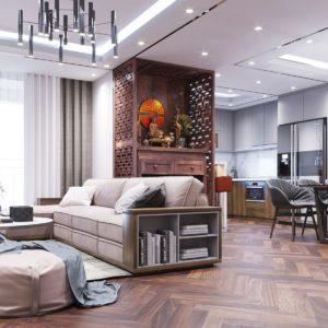 Thiết kế chung cư mini giúp tối ưu hóa không gian chật hẹp