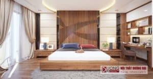 Thiết kế nội thất nhà phố phòng ngủ anh Tuấn Sơn La