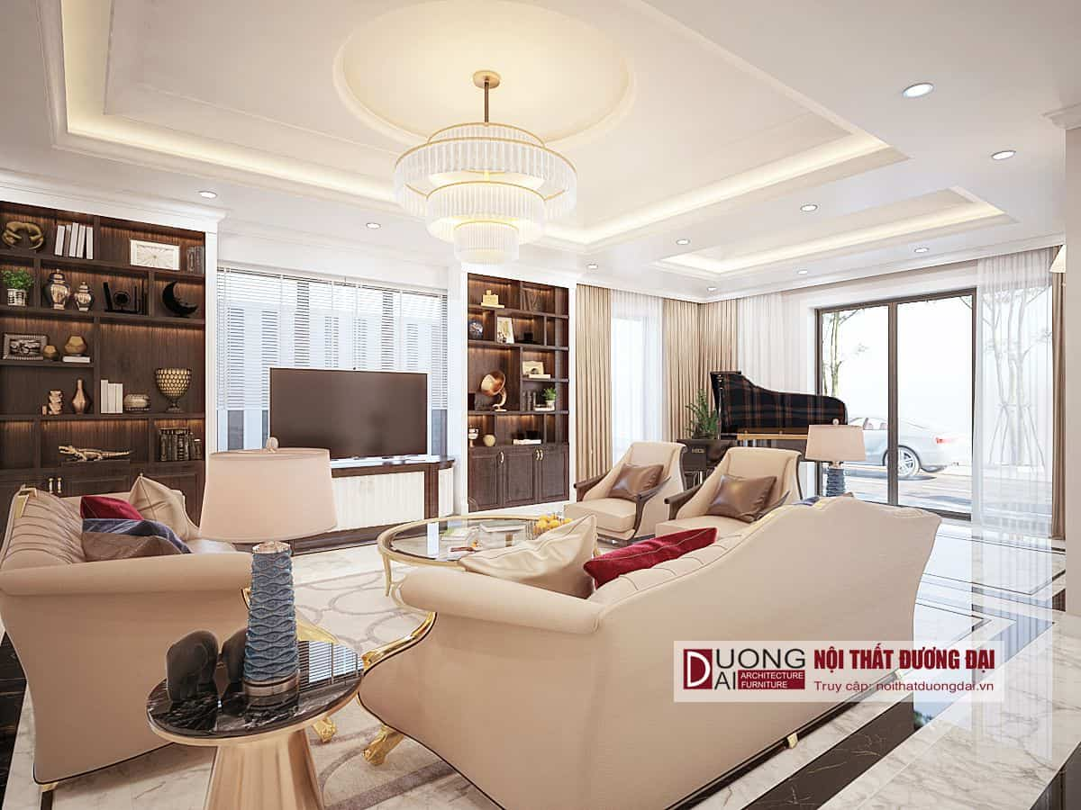 Thiết kế và thi công nội thất biệt thự gỗ tự nhiên