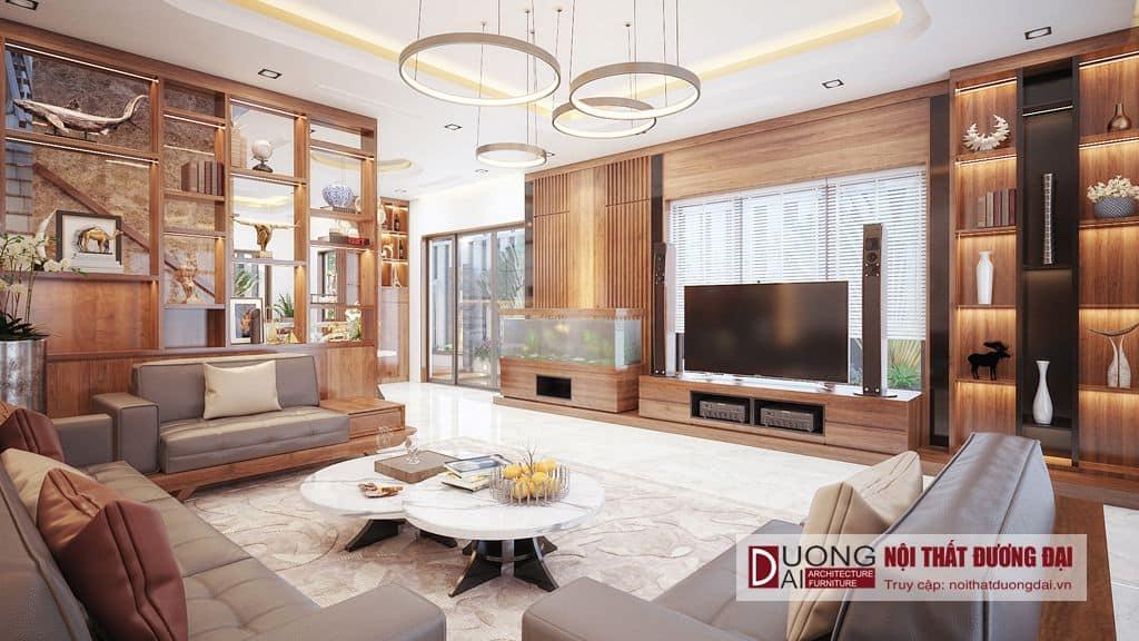 Thiết kế và thi công nội thất biệt thự VIncom Plaza Sơn La - anh Tuấn
