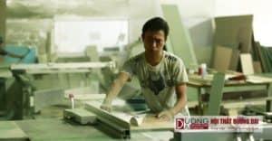 Xưởng sản xuất nội thất hiện đại rộng gần 1000m2