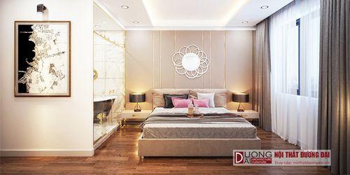 Phòng ngủ phong cách hiện đại luxury