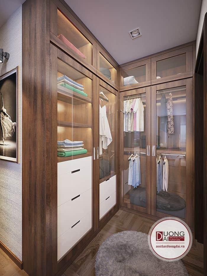 Phòng thay đồ riêng trong phòng ngủ