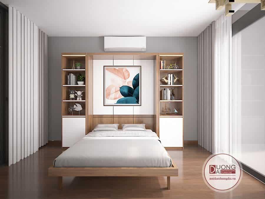 Phòng ngủ có giường thông minh