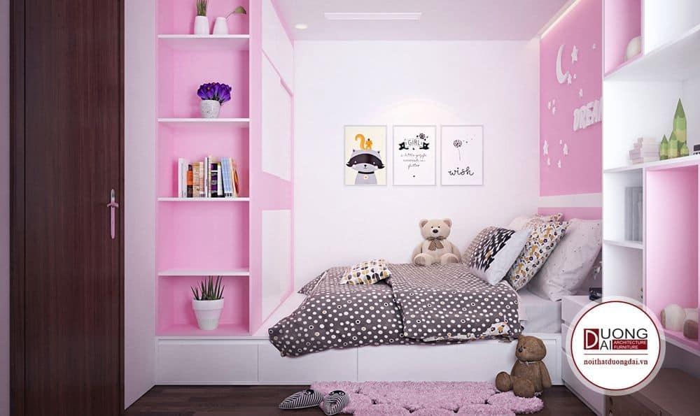 Chính vì sự đa năng mà giường ngủ liên tủ quần áo rất được yêu thích và áp dụng.