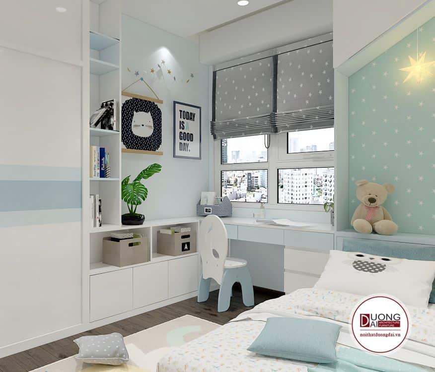 Các gia đình cần hỏi bé màu sắc yêu thích trước khi thiết kế phòng ngủ.