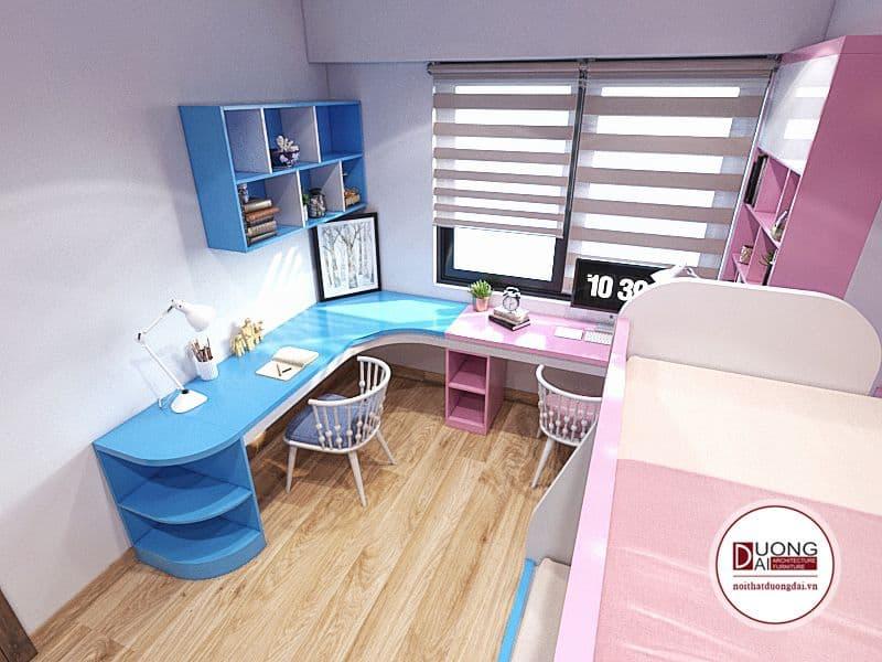 50+ Mẫu Thiết Kế Nội Thất Phòng Ngủ Trẻ Em Đẹp Nhất Năm