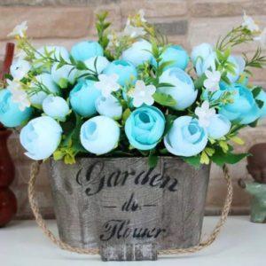 Lọ hoa giả trang trí đẹp, giá rẻ GHS-6206