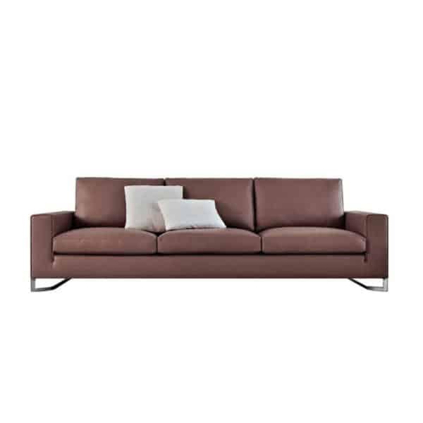 Sofa Da Chữ i Đẹp, Sofa Văng Phòng Khách Hiện Đại Giá Rẻ