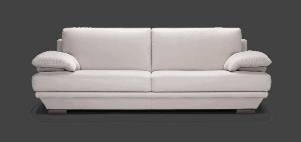 Sofa da hiện đại - Mẫu sofa văng da Plaza SKYD12 |Nội Thất Đương Đại