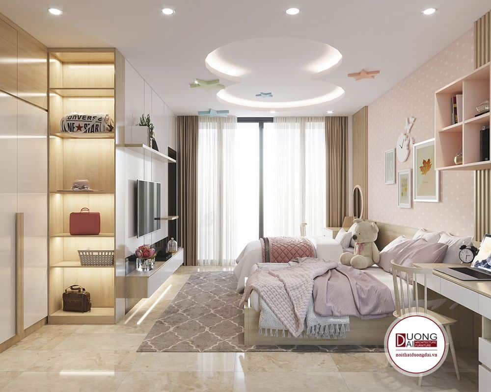 Phòng ngủ trẻ em nhà anh Hùng Thanh Hóa